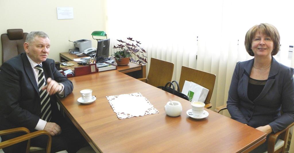 Spotkanie w RDOŚ