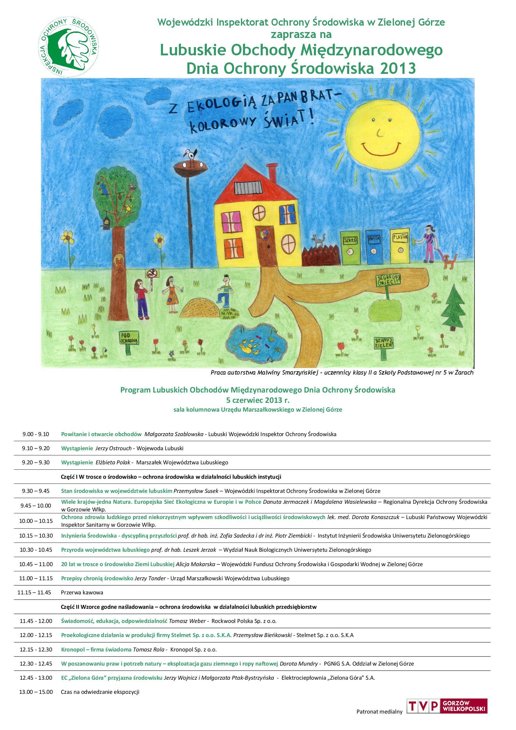 Lubuskie Obchody Międzynarodowego Dnia Ochrony Środowiska_plakat