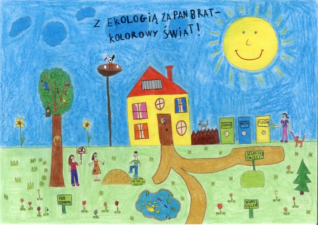 Zwycięska praca: Malwina Smarzyńska klasa IIa SP 5 w Żarach
