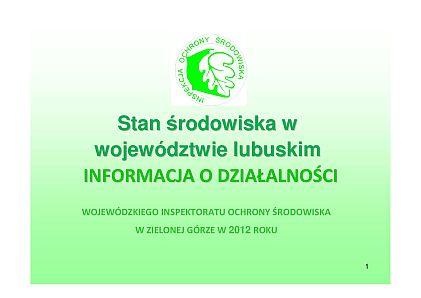 Prezentacja-Sprawozdanie 2013 na Sejmik
