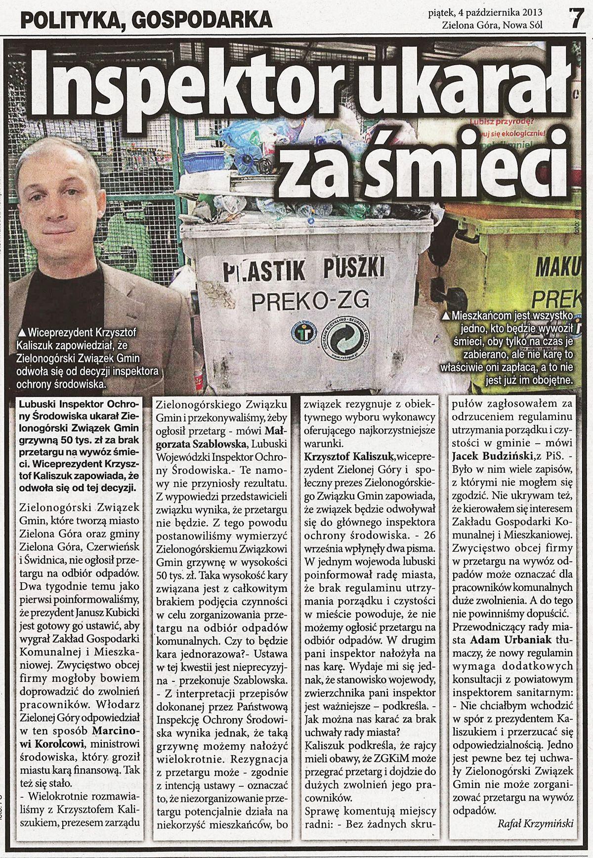 20131004 - TR - śmieci ZG