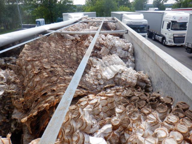 Zdjęcie: Transport odpadów
